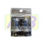 Lâmpada H4 Super Branca - Certa - RH20004