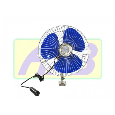 Mini Ventilador Automotivo - 15cm 12V